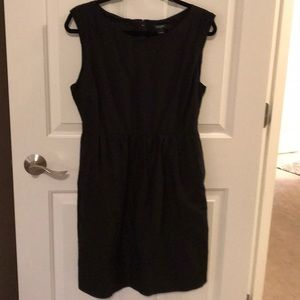 Black JCrew boat neck dress, 12